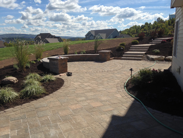Landscaping Pavers Syracuse Ny : Syracuse lightscapes landscape design and planning